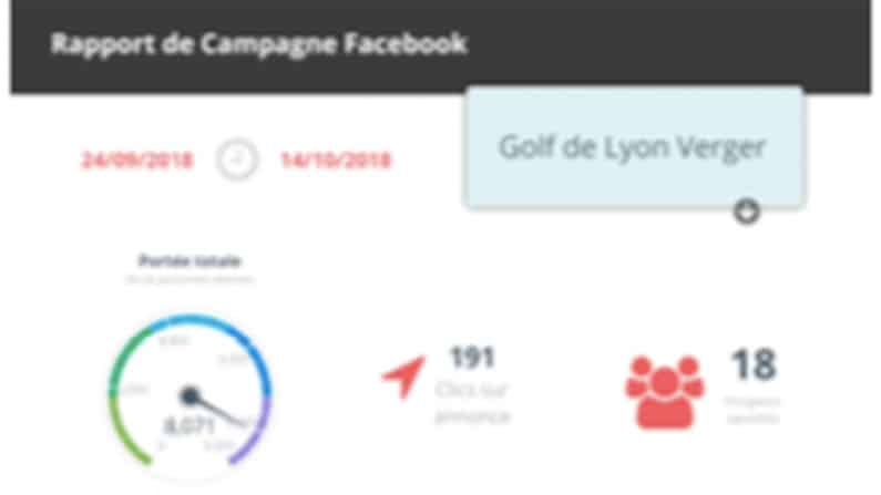 Campagne digitale Facebook