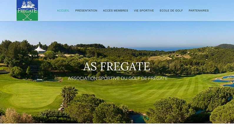 Site web de l'AS Golf Fregate