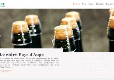 Site web Syndicat des Producteurs de Cidre