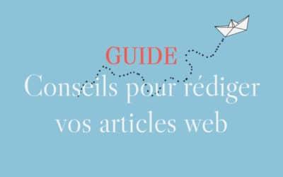 Conseils pour la rédaction d'articles web