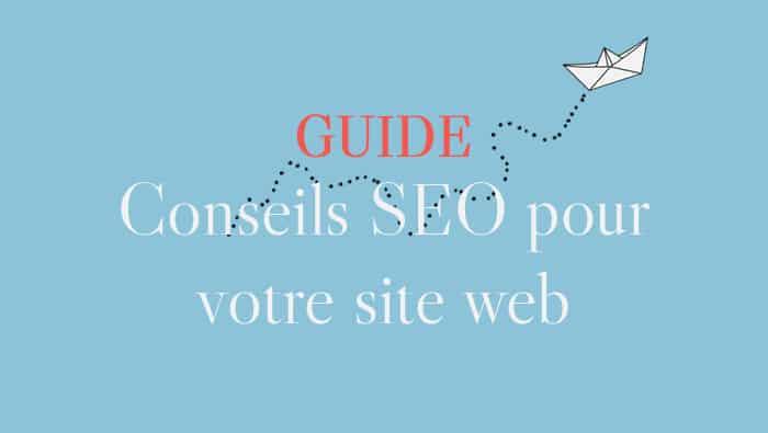 Conseils SEO pour votre site web
